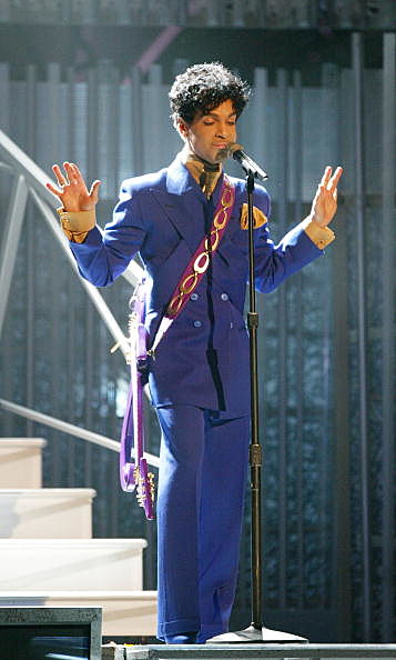Prince at 46th Annual Grammy Awards - Show