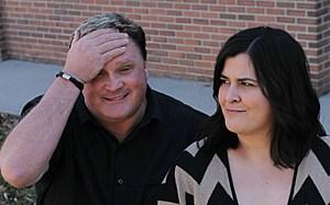 Mike & Nicole (goofy)