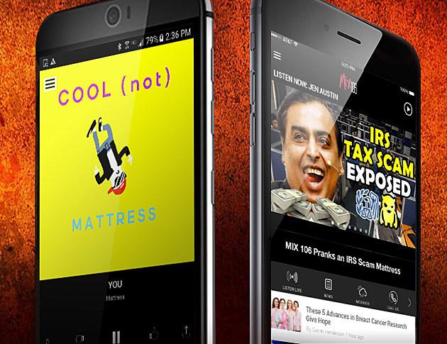 mix 106 radio app